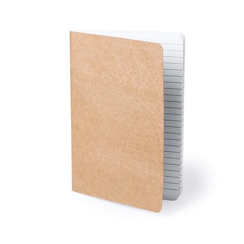 Блокнот ZURIX , бежевый, переработанный картон